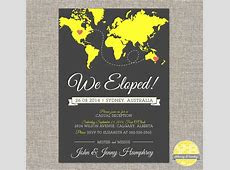 Best 25  Elopement announcement ideas on Pinterest   Reception invitations, Wedding