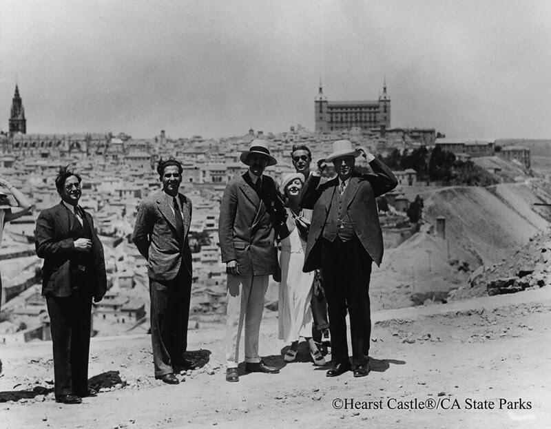 William Raldolph Hearst junto con Arthur Byne en Toledo en 1934 © Hearst Castle/CA State Parks