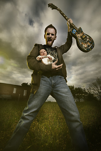 April 14th 2008 - Daddy Rocks by Stephen Poff.