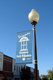 Downtown North Wilkesboro Banner
