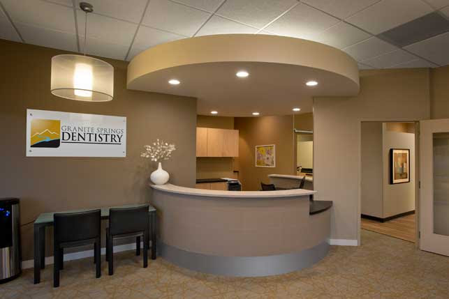 Dental Office Architecture and Interior Design - Granite Springs