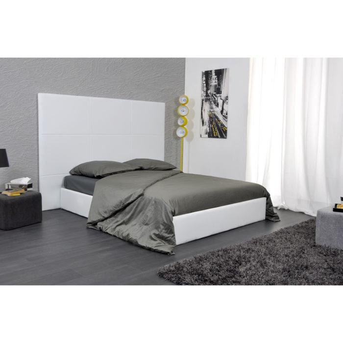 t tes de lit en tissu sans fixation 2 tete de lit. Black Bedroom Furniture Sets. Home Design Ideas