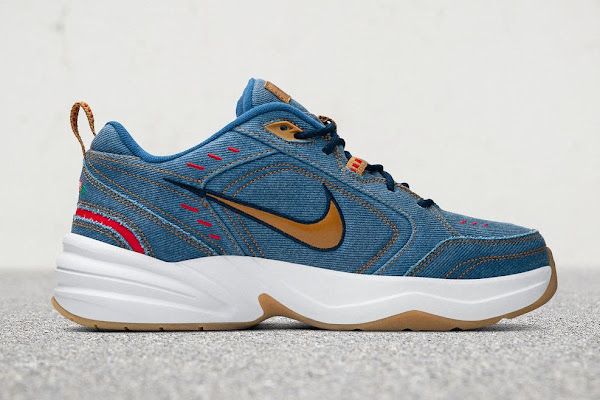 "4db1e51e Nike's ""Denim"" Air Monarch IV Is the Perfect Father's Day Gift"