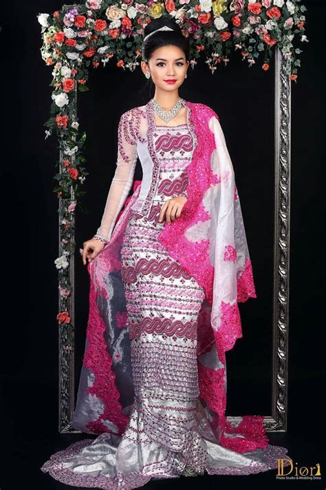 387 best Myanmar Wedding Dress images on Pinterest