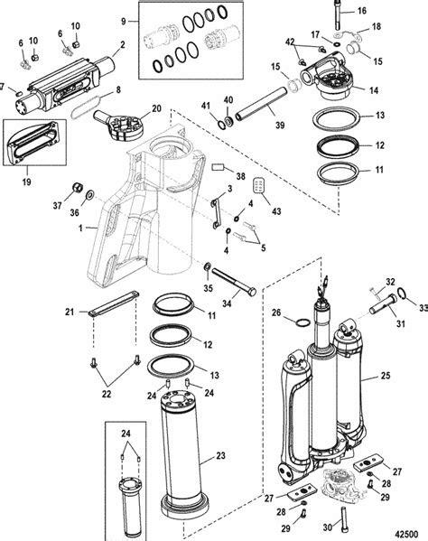 Mercury Marine 350SCi Verado Power Trim / Steering