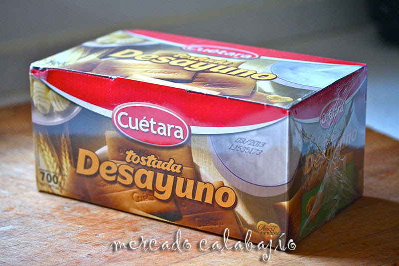 GALLETAS CUETARA I