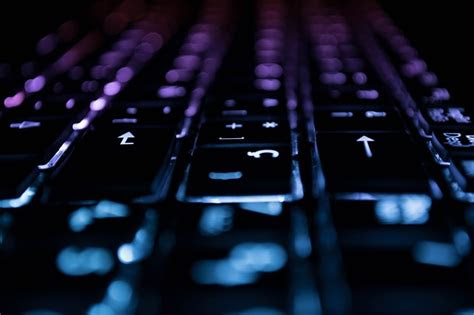 keyboard computer lights  photo  pixabay
