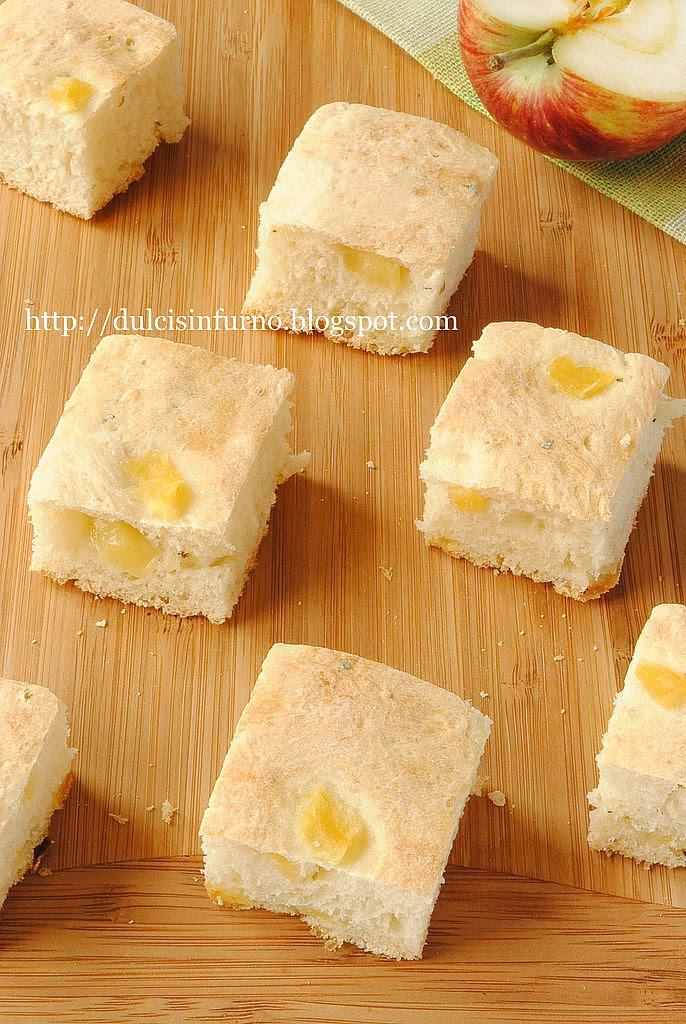 Focaccia Salata alle Mele-Salt Apple  Focaccia