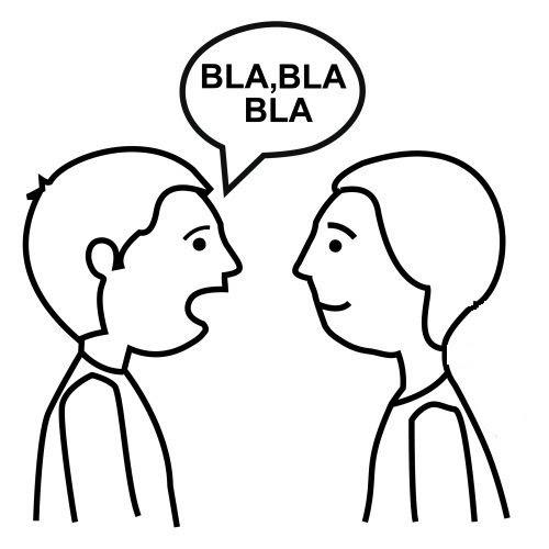 Dibujos De Persona Hablando Imagui