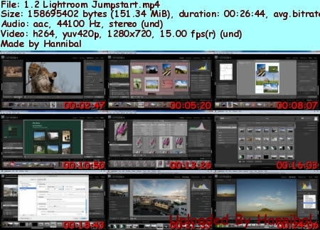 77d53c57d1c05823d25903c6011232eb Video2Brain Adobe Photoshop Lightroom 3: Learn by Video tutorials
