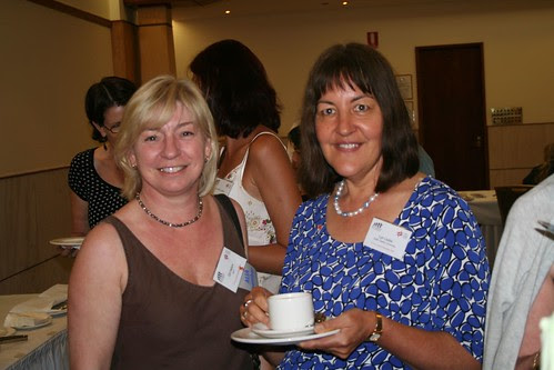 Gillian Hallam and Lyn Leslie