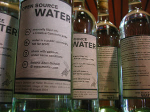 Open Source Water Bottles