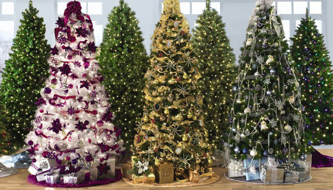 Image of a GE Collection Christmas tree