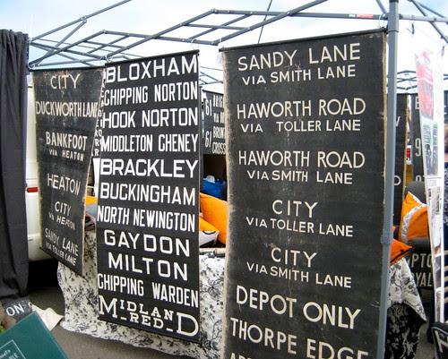 UK transportation signs