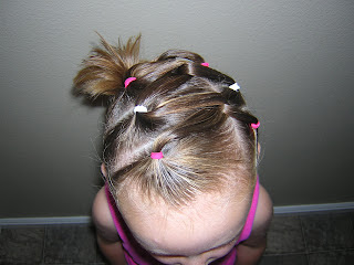 elastic hairstyle