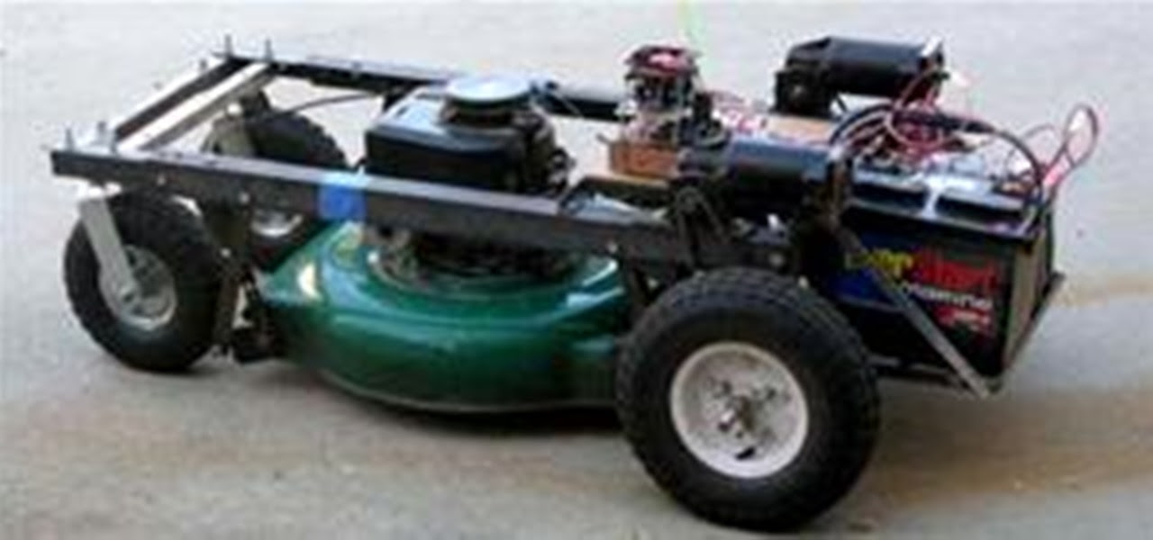 Remote Control Your Lawn Mower Hacks Mods Circuitry