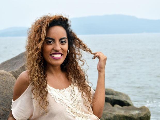 Mulheres negras assumiram seus cabelos naturais em Santos (Foto: Nayla Souza Ribeiro/Arquivo Pessoal)
