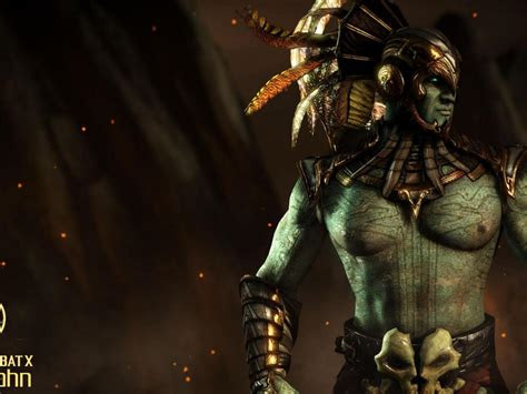 mortal kombat  characters kotal kahn wallpaper hd