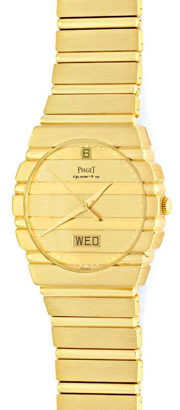 Original-Foto 2, PIAGET POLO DAY DATE JUBILÄUMS-MODELL GELB-GOLD