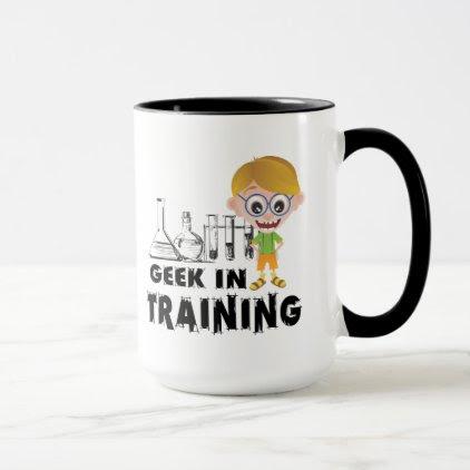 Geek in Training Chemistry Mug