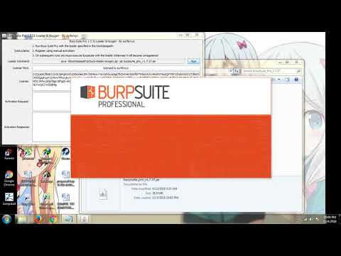 Burp Suite Pro Full Version 1.7.34 Free Download 2018