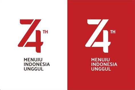 tema  logo hut   kemerdekaan ri ayo madrasah