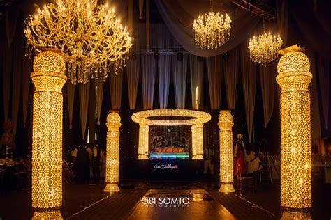nigerian wedding decor chioma agha and wale ayorinde obi