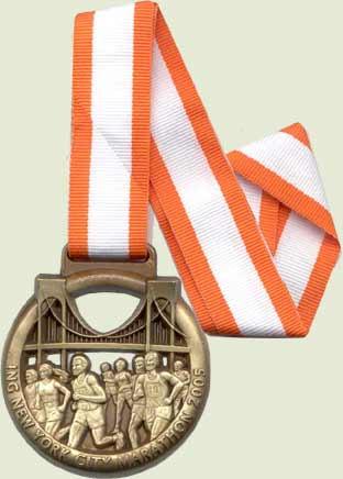 Medaglia NYC Marathon