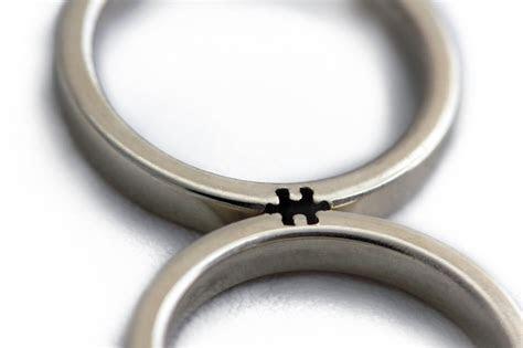 Culture N Lifestyle   CNL ? Puzzle Piece Wedding Bands