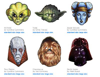 star wars masken ausdrucken - malvorlagen gratis