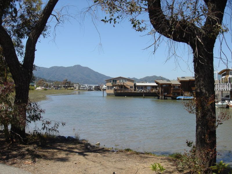 North Sausalito houseboats