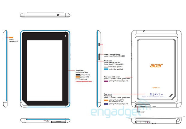 Acer eases mystery Iconia B1A71 Tab past FCC, GLBenchmark shows modest specs