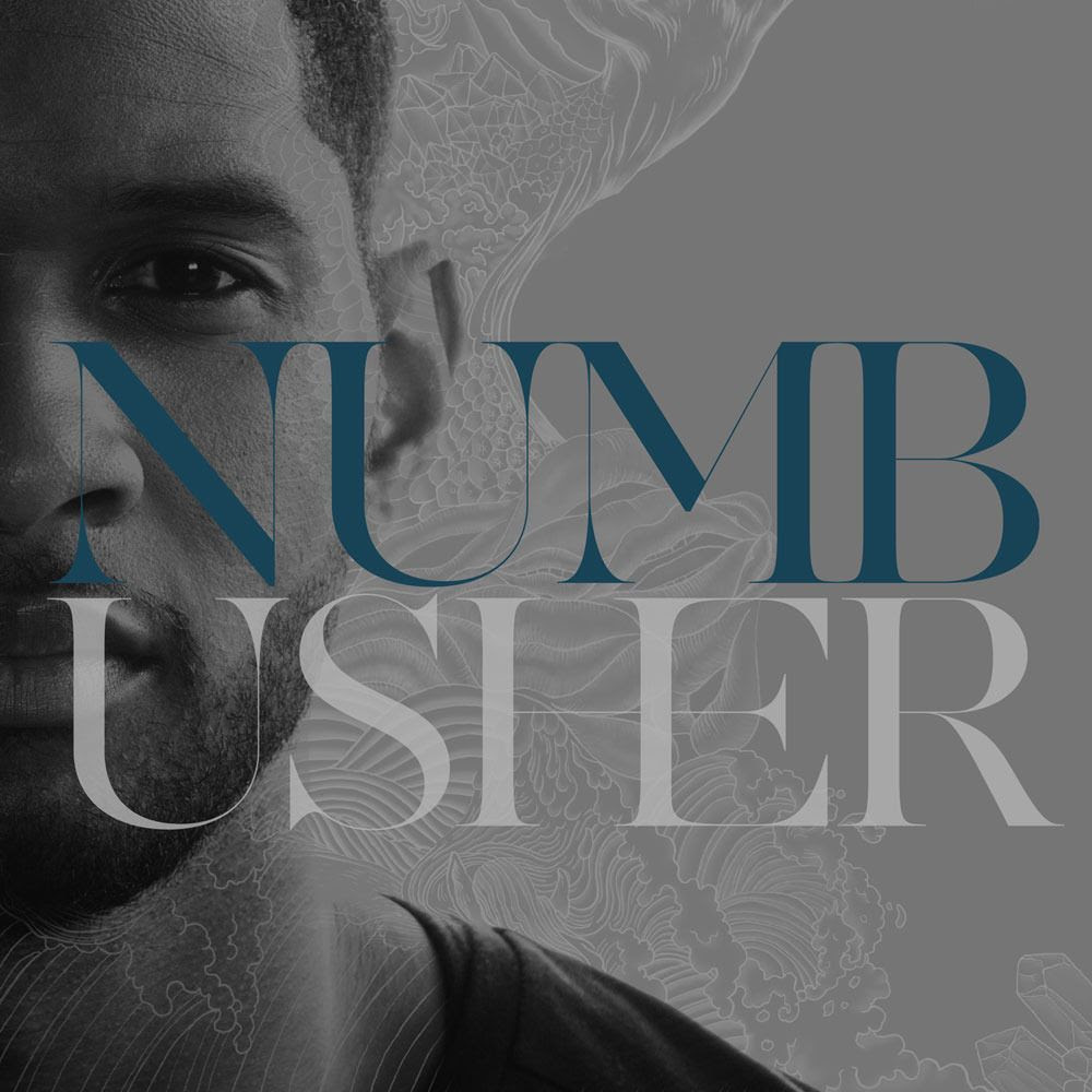 Numb (Single Cover), Usher