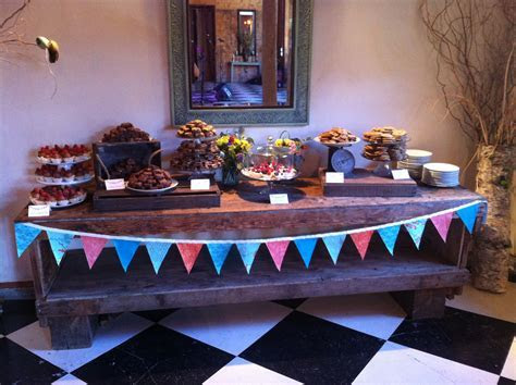 Dessert Table @ Mt Hood Organic Farms Weddings