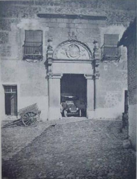 Palacio de Munárriz hacia 1928
