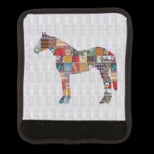 Luggage Handle Wrap HORSE Animal Graphic ART
