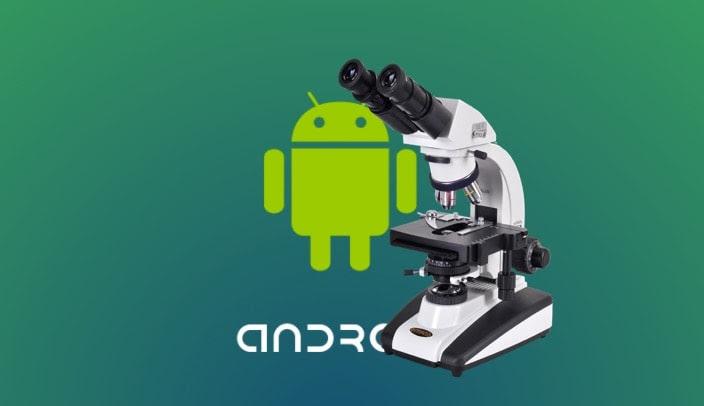 تطبيق تحويل هاتف الاندرويد الى ميكروسكوب وعدسة مكبرة - خنشلة تك
