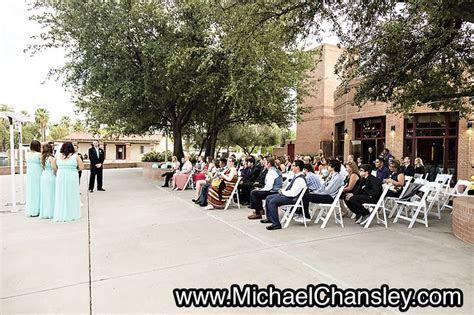 ceremony views at Encanto Park Clubhouse wedding venue in