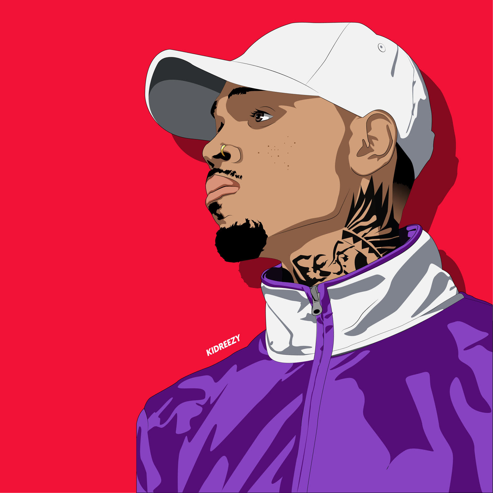 "Club Beat/Instrumental Chris Brown X DJ Mustard Type ""Committed"""