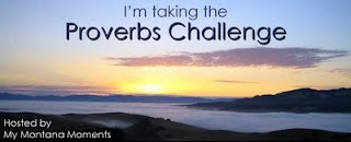 Taking the Proverbs Challenge!!!
