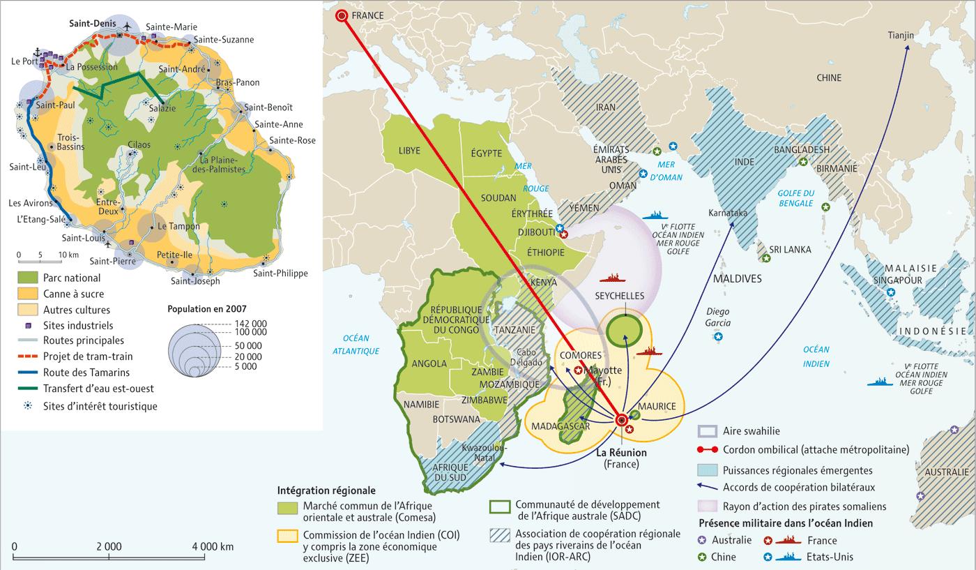 Analyse Relations France La Réunion Et Afrique Du Sud La