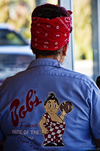 Bob's Big Boy waitress