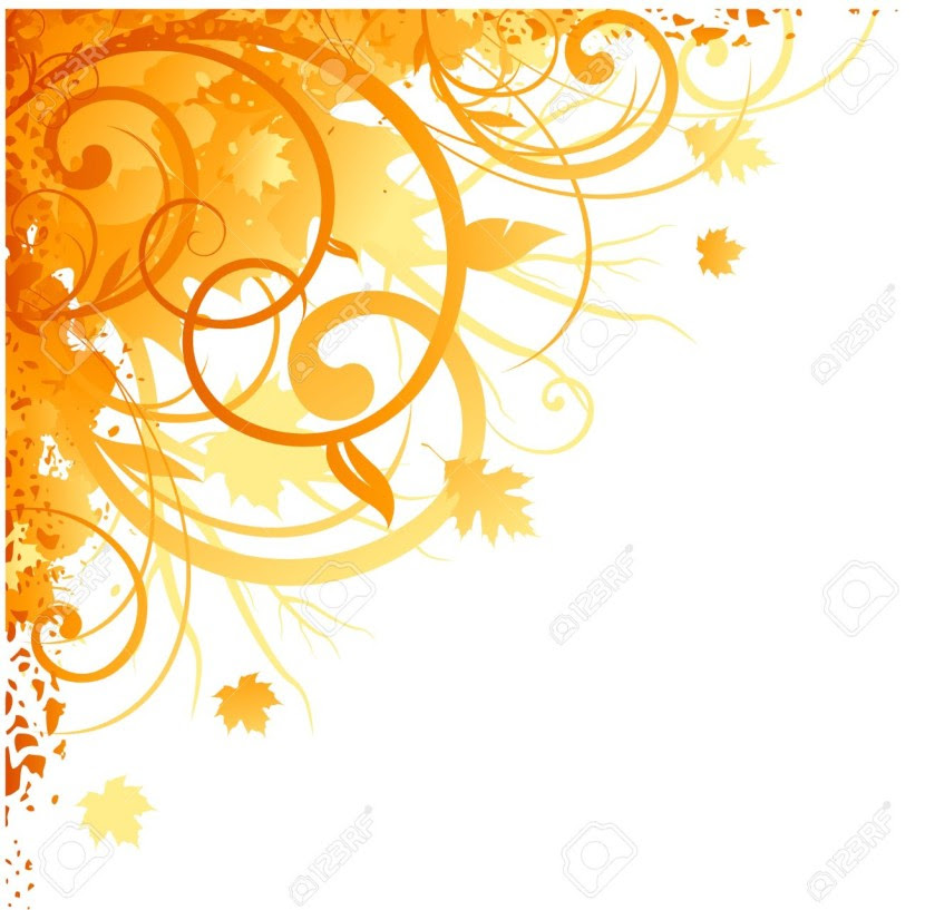 autumn corner design royalty free cliparts vectors and stock 830x817