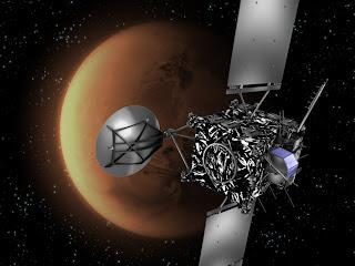 Sonda Rosetta se aproxima a Marte
