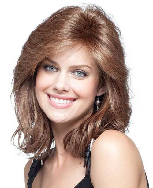 15 Thick Medium Length Hairstyles  Hairstyles  Haircuts 2016  2017