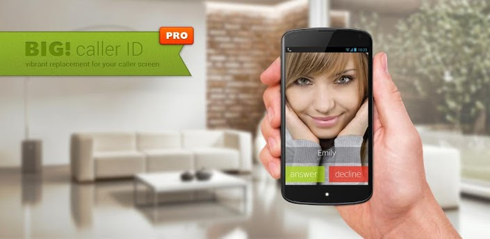Full Screen Caller ID BIG Pro v2.3.5 Android Apk Full Free