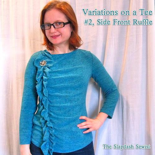 Side Ruffle Tee Thumbnail