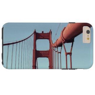 On The Golden Gate Bridge iPhone 6 Plus Tough Case iPhone 6 Plus Case