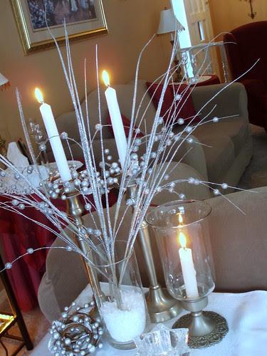Dining Delight Winter Decor