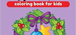 Large Christmas Coloring Books